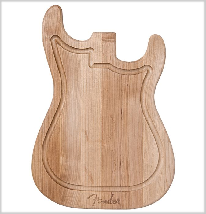 Fender® Stratocaster Cutting Board