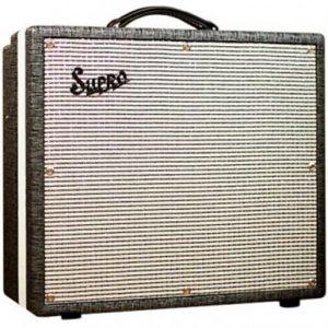 "Supro® 1695T Black Magick 1x12"" Tube Guitar Combo Amp 25 Watts"