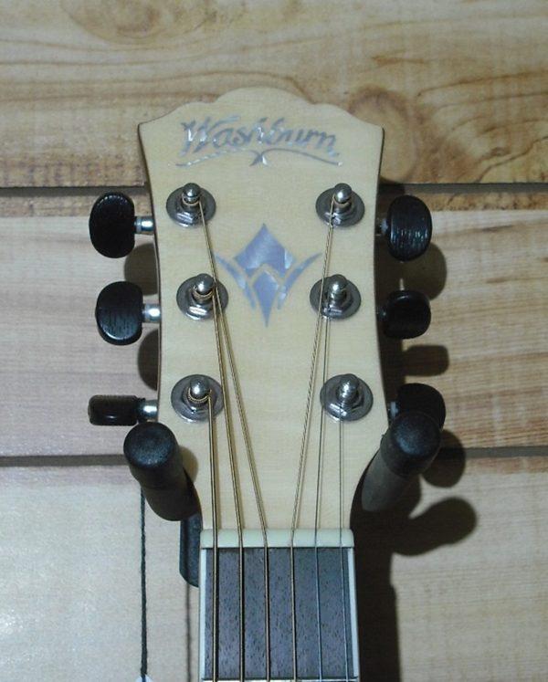 Washburn AG40CE Grand Auditorium Acoustic Electric Guitar Natural w/Case