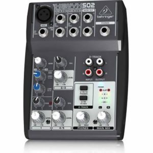 Behringer XENYX 502 3 Channel Analog Mixer