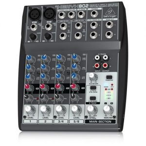 Behringer XENYX 802 4 Channel Analog Mixer