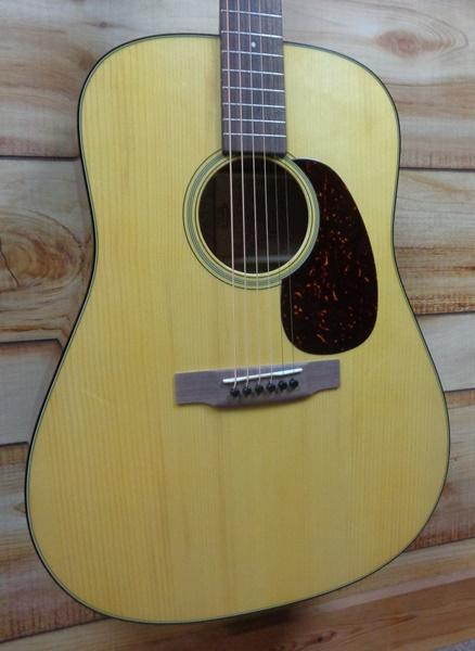 Ltd Ed Martin® Model America 1 Dreadnought Acoustic Guitar Natural w/Case