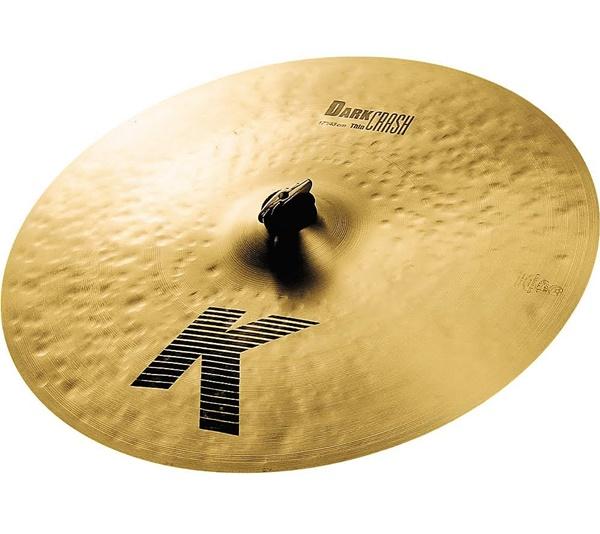 "Demo Zildjian 17"" K Dark Thin Crash"